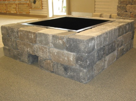 Madera Square Firepit Kit ... - Firepits – Darnall Concrete